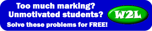 Too much marking? Unmotivated students? Play your way to exam success at www.what2learn.com