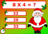 Christmas Maths game What2Learn