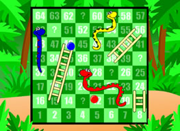 What2Learn Snakes and Ladders interactive whiteboard game