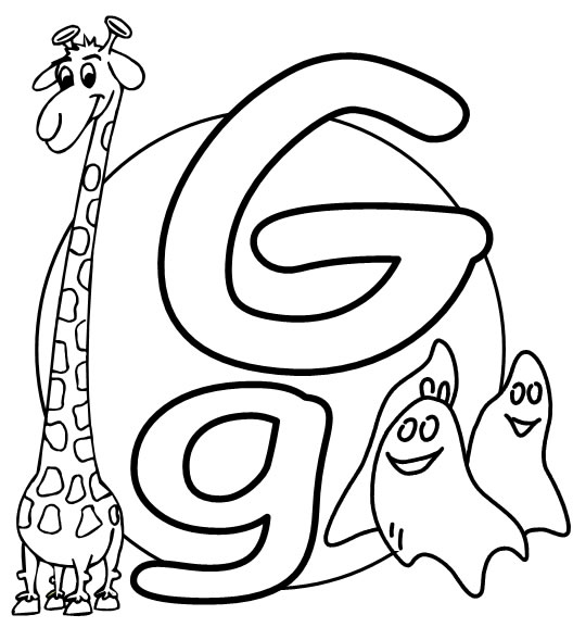 graphic regarding Printable Letter G identify What2Study » Free of charge Printable Alphabet the letter G