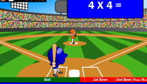 Baseball Mathematics game