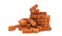 image of pile of bricks