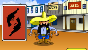 gunslinger snap matching game